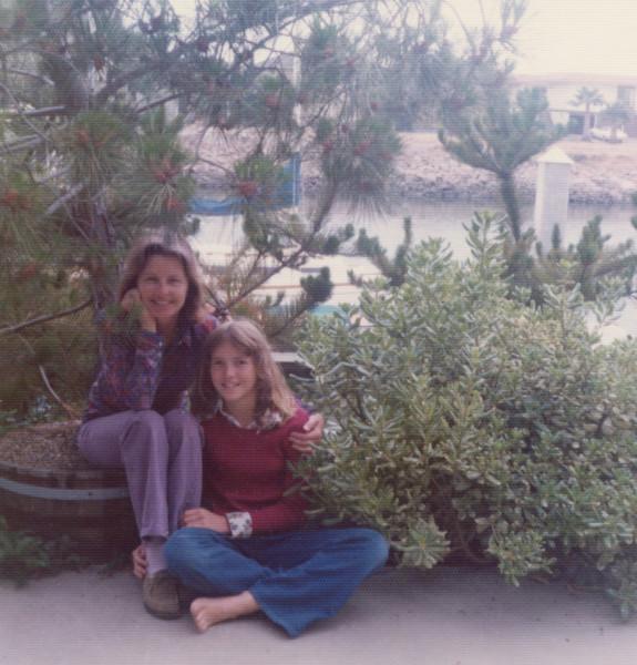 1975 Mom and I