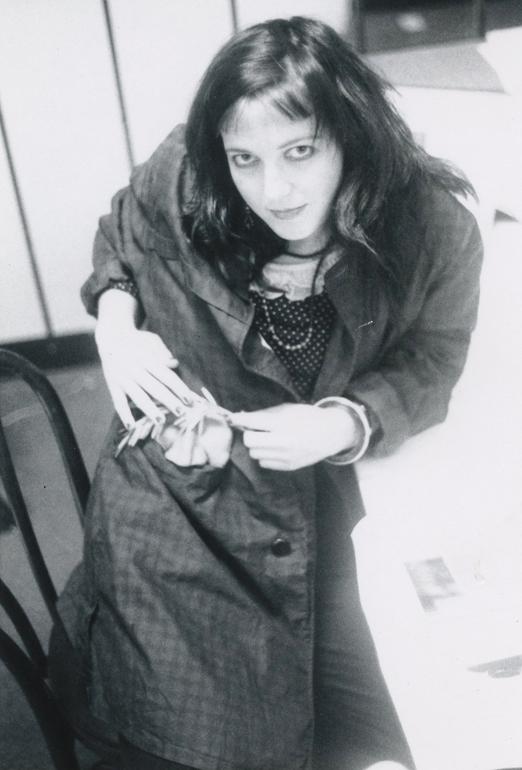 Elizabeth Montague at California Institute of the Arts 1985