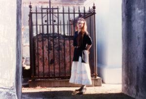 Elizabeth Montague in New Orleans, LA in 1989