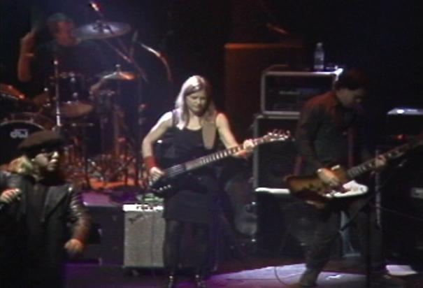 Jeffrey Lee Pierce, Mike Martt, Brock Avery and Elizabeth Montague in 1995