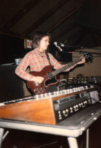 Elizabeth Montague at the Anti-Club in Hollywood in 1983