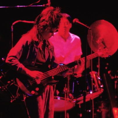 Elizabeth Montague and Joe Dean at the Roxy in Hollywood in 1986